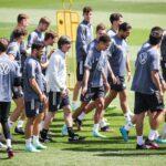 25 Spieler im DFB-Training – Nur Hofmann fehlt